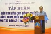Tập huấn phổ biến văn bản của Đảng, Chính phủ về công tác dân số trong tình hình mới