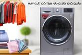 Các tiện ích thường thấy trên máy giặt
