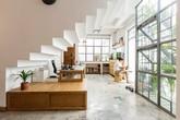 Căn nhà Sài Gòn có thế đất lạ thách thức sự sáng tạo của kiến trúc sư
