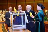 Chùm ảnh bỏ phiếu bầu Chủ tịch nước tại Quốc hội