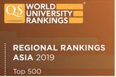 ĐH Quốc gia Hà Nội vươn lên vị trí 124 trong bảng xếp hạng QS châu Á năm 2019