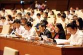 Hôm nay, Quốc hội công bố kết quả lấy phiếu tín nhiệm