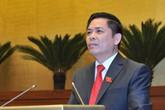 Bộ trưởng Bộ GTVT nói gì sau khi nhận nhiều phiếu tín nhiệm thấp
