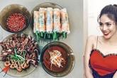 Chi tiết nhỏ tiết lộ khẩu vị lạ trong mâm cơm của Lan Khuê khiến nhiều người giật mình