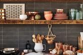 Những căn bếp đẹp hút hồn với kệ gỗ tự nhiên phong cách Rustic