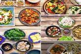 Mâm cơm 30 ngày đẹp xuất sắc, chỉn chu đến từng cọng rau miếng thịt