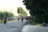 Hải Dương: Va chạm với xe máy, một phụ nữ đi gặt lúa tử vong