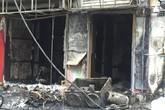 Hà Nội: Nhà 4 tầng bốc cháy, 2 người bỏng nặng