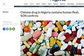 """Kinh hãi: """"Viên nang thịt người"""" trị tiểu đường từ Trung Quốc"""