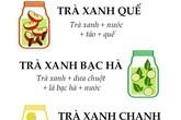 4 công thức nước thanh lọc cơ thể đơn giản với trà xanh