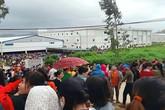 Thanh Hóa: Hàng nghìn công nhân đình công để đòi quyền lợi