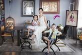 Rời nhà vườn triệu đô, Hồng Nhung và hai con chuyển tới căn hộ cao cấp trang trí đầy nghệ thuật ở quận 2