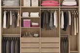 Tủ quần áo mở - xu thế đang rất thịnh hànhi trong thiết kế nhà hiện đại