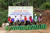 Khởi công xây dựng cầu Tâm Bình tại Thanh Hóa