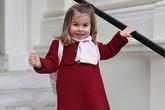 Công chúa Charlotte giống hệt cháu gái Diana hồi nhỏ