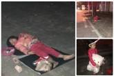 Gia cảnh đáng thương của bé gái 5 tuổi ngủ ngon lành trên vỉa hè trong đêm lạnh