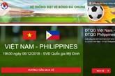 VFF nói gì về thông tin trang bán vé online bị sập sau khi mở bán vé trận Việt Nam - Philippines