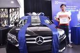 Mua máy giặt Electrolux, có cơ hội trúng Mercedes trong dịp khuyến mãi lớn cuối năm.