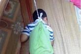 Xác minh hình ảnh bé trai 4 tuổi bị nhốt ở phòng học, buộc dây, treo lên cửa sổ