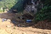 Huy động hàng trăm người tìm kiếm 2 phu vàng bị mắc kẹt trong hang