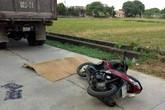 Hải Dương: Va chạm với xe chở vật liệu, con dâu chết thảm