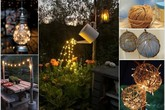 Khiến sân vườn thêm lãng mạn bằng những ngọn đèn lung linh