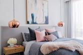 Phòng ngủ màu xám: Tưởng già nua nhưng lại đáng yêu không tưởng