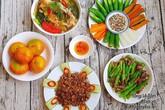 Bữa cơm 5 món đậm đà khiến cả nhà ăn không ngừng nghỉ