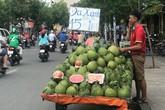 Bưởi da xanh, cam sành giá rẻ đồng loạt 'xuống đường' ở Sài Gòn