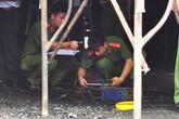 Hàng chục cảnh sát khám nghiệm vụ cháy nhà hàng làm 6 người chết