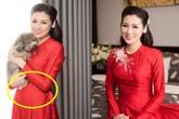 Rộ tin Á hậu Tú Anh đã sinh con đầu lòng sau 5 tháng đám cưới với ông xã thiếu gia?