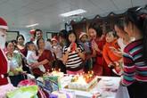 Giáng sinh ấm áp của những bệnh nhi ở Khoa Gan mật – Bệnh viện Nhi TƯ