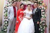 'Mẹ chồng khó tính' Lan Hương hạnh phúc cùng ông xã tổ chức đám cưới cho con trai