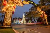 Các khu đô thị Vinhomes trang hoàng rực rỡ đón Giáng sinh
