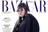 Bất ngờ Triệu Vy diện đồ 50.000 USD, xuất hiện đầy cuốn hút trên bìa tạp chí Việt