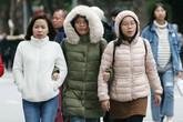 Rét run bần bật nhưng dân Hà Nội vẫn đổ ra đường hưởng không khí năm mới 2019