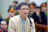 """Trịnh Xuân Thanh trở lại phiên tòa và nói: """"Không có một tí tội nào"""""""