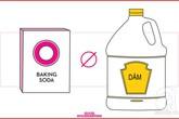 Những sản phẩm làm sạch không bao giờ được pha trộn với nhau