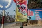Dùng đường giao thông để triển lãm hội chợ, Chủ tịch huyện mong dân thông cảm
