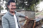 Anh nông dân điển trai xây được nhà lầu tiền tỷ nhờ nuôi ong