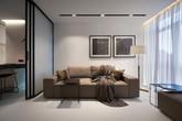 Căn hộ 44m² đẹp không giới hạn nhờ áp dụng hiệu quả phong cách tối giản