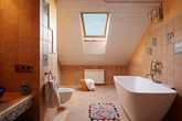 Nhà tắm phong cách Địa Trung Hải sẽ khiến trái tim bạn phải loạn nhịp bởi vẻ đẹp thanh nhã
