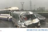 Tai nạn liên tiếp xảy ra trên cao tốc Pháp Vân – Cầu Giẽ
