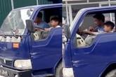 Phạt 8 triệu đồng chủ phương tiện để bé trai 10 tuổi lái xe tải trên phố