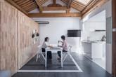 Căn nhà truyền thống nhỏ gọn được thiết kế thông minh và tiện ích