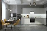 Nếu muốn một căn nhà sang trọng, lịch lãm hãy chọn nội thất màu ghi