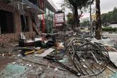 Nghệ An: Nổ lớn tại nhà hàng lẩu nướng rung chuyển cả một góc phố