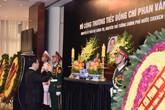 Đã có 393 đoàn, 17.000 người đến viếng cố Thủ tướng Phan Văn Khải