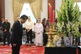 Đại diện lãnh sự quán các nước đến viếng cố Thủ tướng Phan Văn Khải