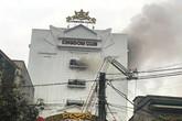 Hà Tĩnh: Cháy lớn ở quán karaoke